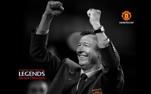 "If I was born in February 1986, and ""SAF"" took over in November 1986, only 10 months of my life has been without Sir Alex as United manager... Weird. ALL THE BEST!"