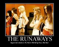 If you don't know of The Runaways I don't blame you. I know of Joan Jett, but yeah... Education!