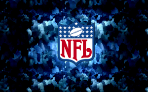 Guardian Fail, the NFL has updated their logo since this was made. FIX UP!