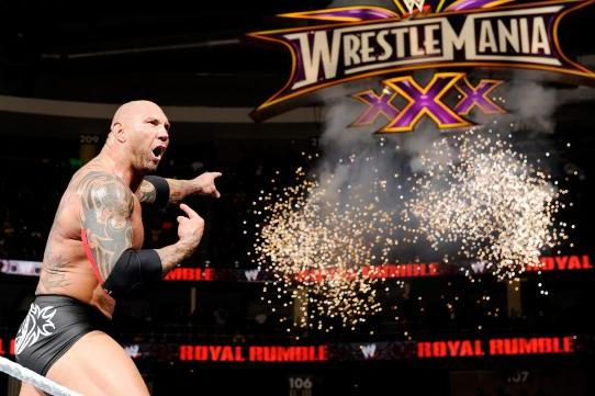 Batista Rumble Winner
